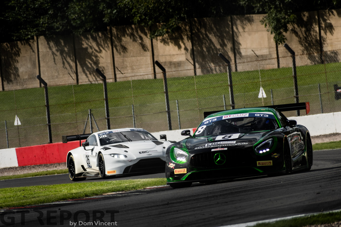 GT Cup Donington race report: Neary duo win three from four