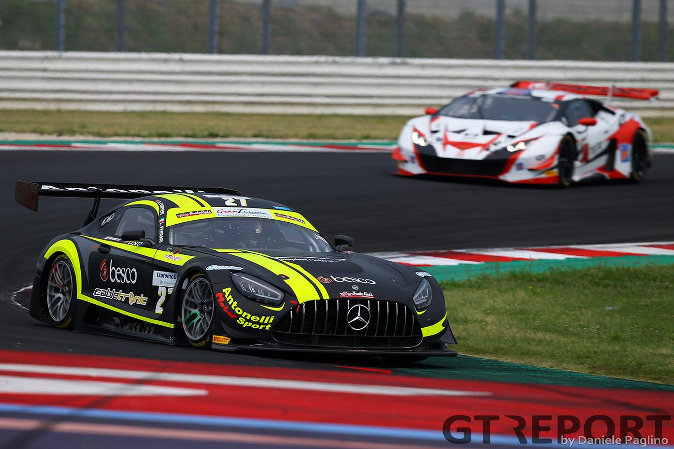 AKM Motorsport By Antonelli to race in Italian GT Sprint Series with Baruch, Segù
