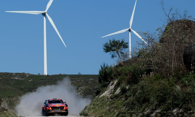 WRC Portugal Rally Hyundai Motorsport test gallery