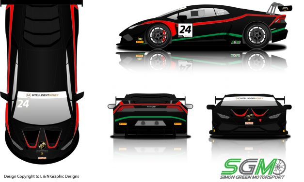 Simon Green Motorsport confirms Lamborghini Huracán GT3 for Khera and Wylie