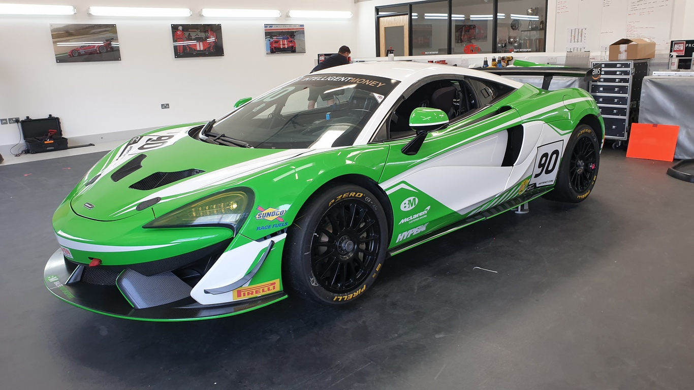 Brown and Marshall complete Balfe's multi-class British GT entry