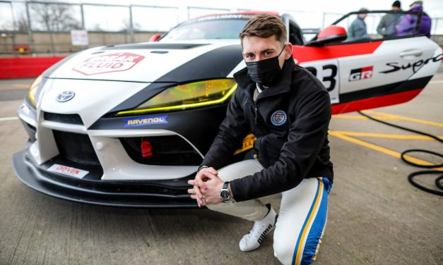 Scott McKenna confirmed for Toyota Gazoo Racing UK Young Driver Programme