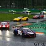 Italian GT race 1 season-opener suspended due to heavy rain
