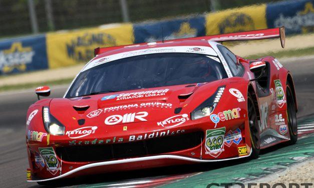 Scuderia Baldini brings champions Stefano Gai, Daniel Zampieri, and Giancarlo Fisichella back to Italian GT