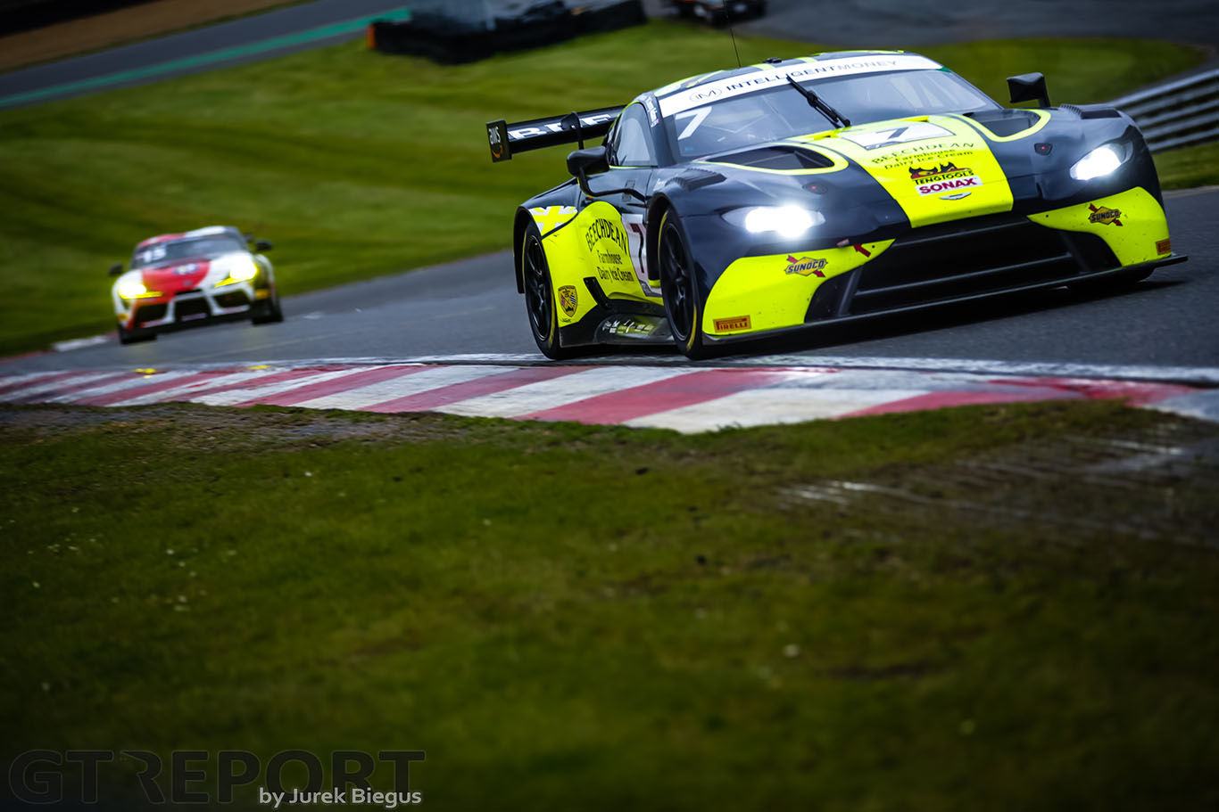 British GT Brands Hatch: Beechdean AMR and Century storm to pole positions