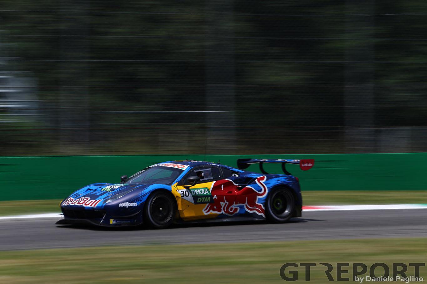 DTM Monza Ferrari Win