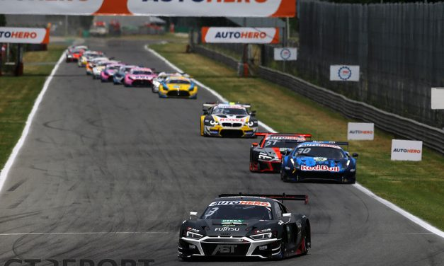DTM Monza: Kelvin van der Linde dominates race two for Audi