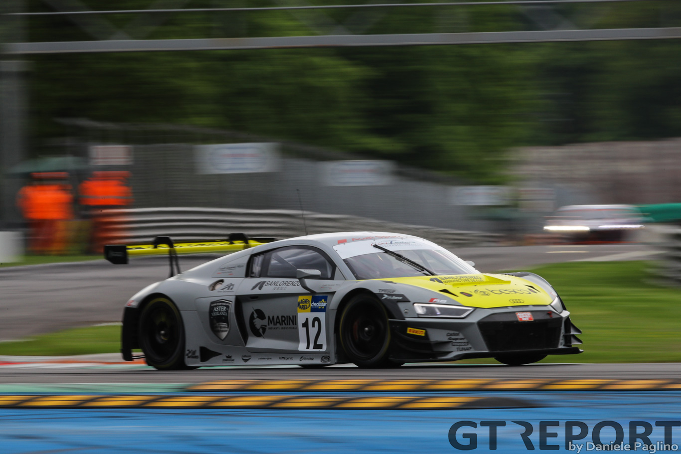Riccardo Agostini heads to Misano aiming to consolidate his Italian GT Sprint championship lead