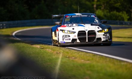 BMW M4 GT3 race debut postponed following practice accident