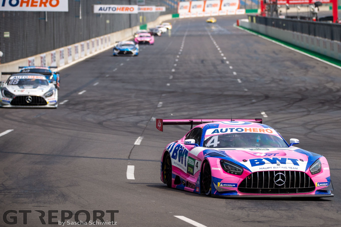 DTM Lausitzring race 2 report: Götz takes win as Kelvin van der Linde stutters