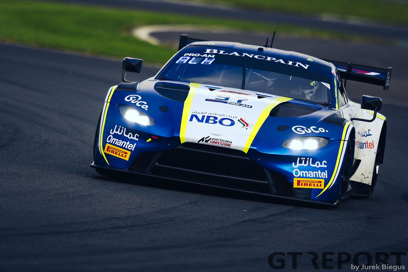 Ahmad Al Harthy & Oman Racing join British GT at Snetterton
