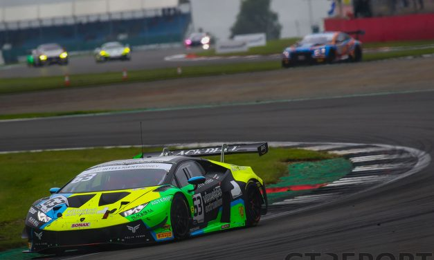 British GT Spa: Barwell and Beechdean top mixed-weather practice sessions