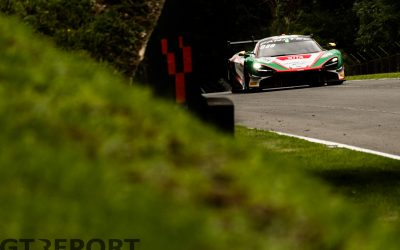 GT World Challenge Brands Hatch: Barnicoat and Marciello share poles in rain-hit qualifying