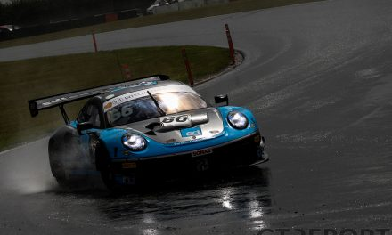 British GT Snetterton: Enduro and Team Parker share mixed-condition practice spoils