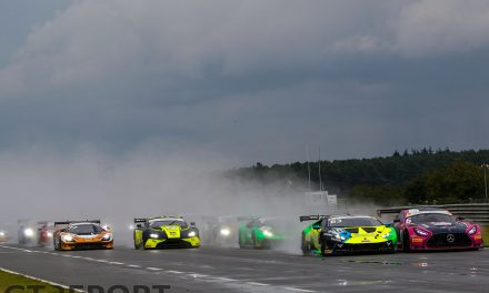 British GT Snetterton: RAM Racing masters mixed conditions to take first win in race two