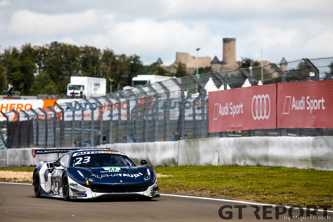 DTM Nürburgring race 2 report: Albon takes lights to flag debut victory