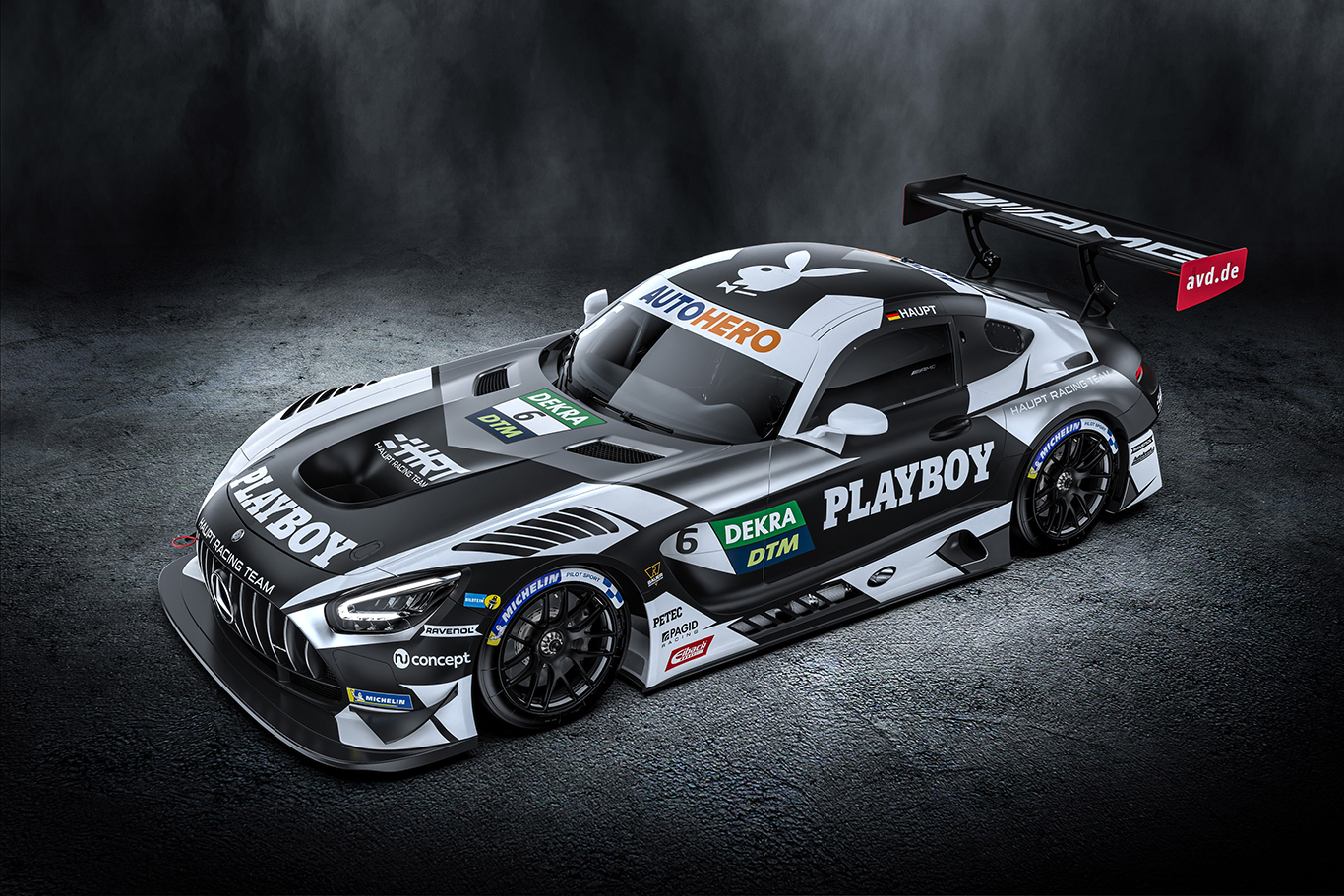 Hubert Haupt and Playboy join forces for historic return to DTM