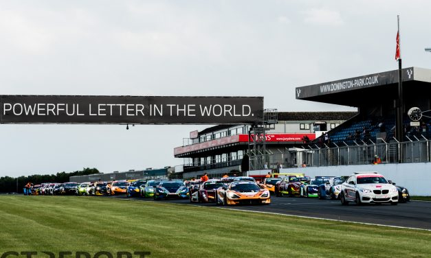 GT Cup Donington GP: Four winners from four races