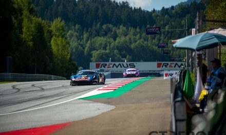 DTM Red Bull Ring: Lawson fends off late Götz pressure to take second DTM win