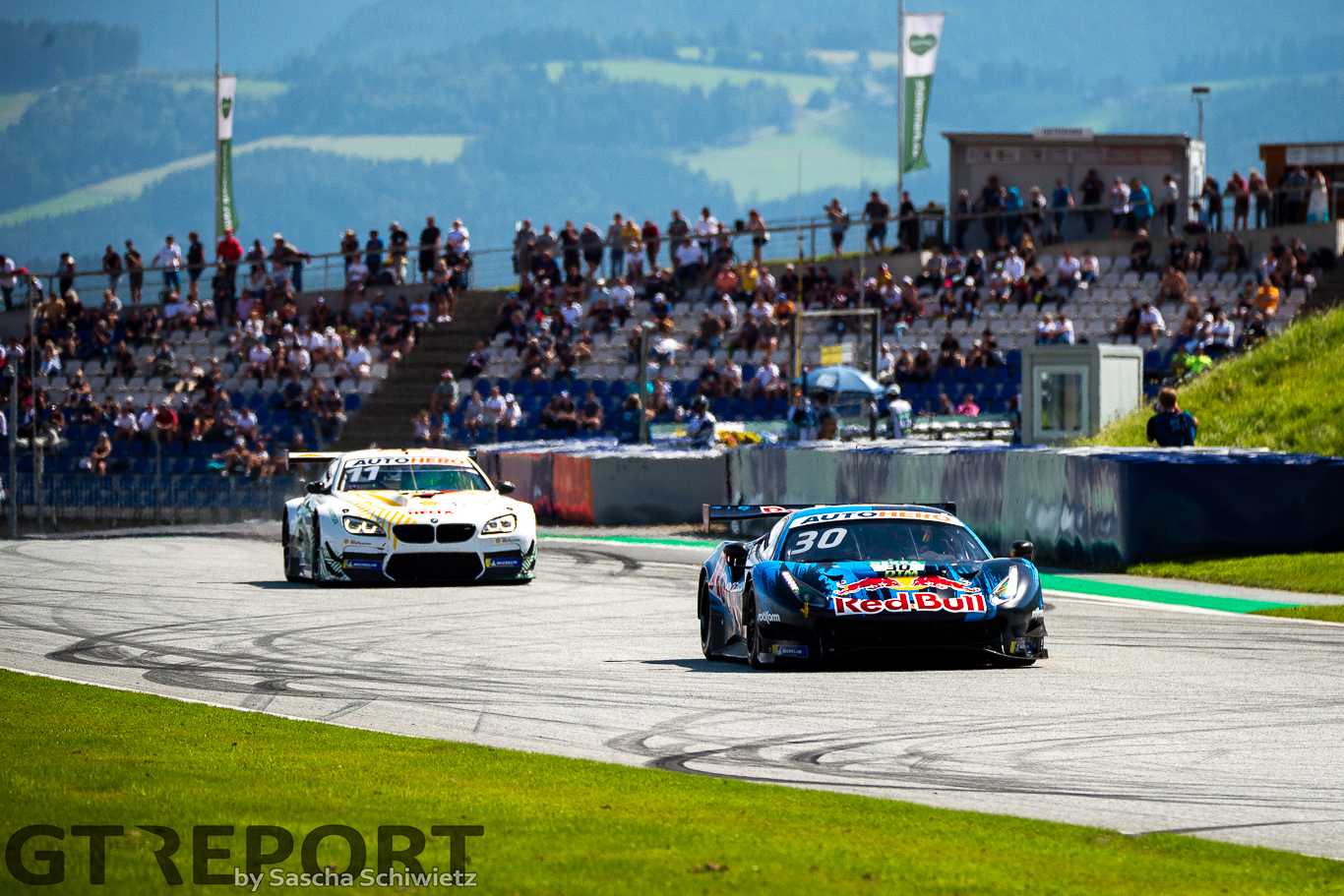 DTM Red Bull Ring: Liam Lawson holds off Marco Wittmann to claim another win