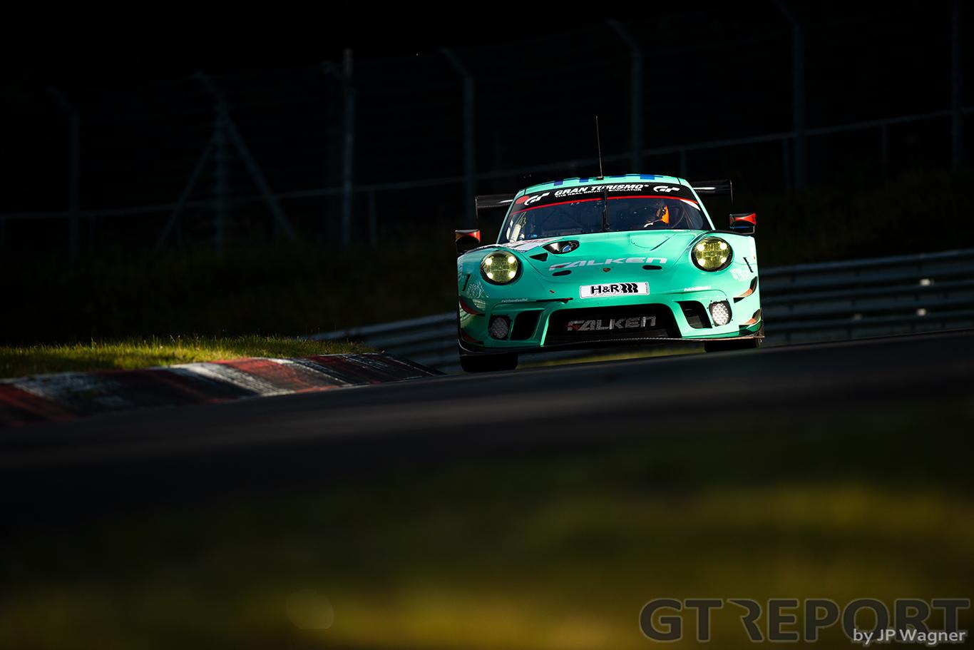 NLS7 qualifying report: Falken sweeps front row