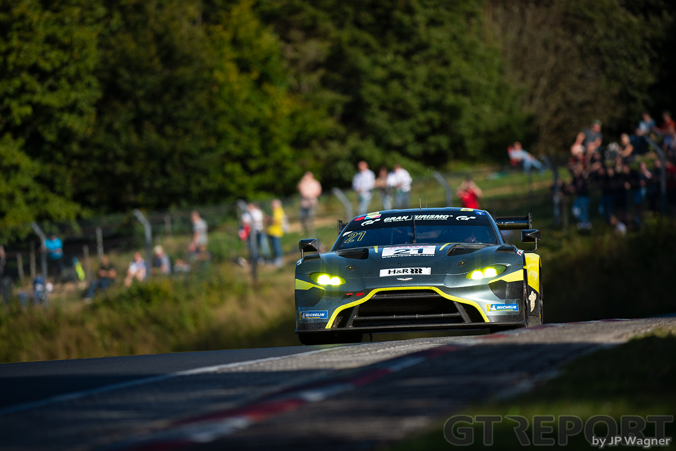 NLS8 race report: Aston Martin takes stunning win on Nürburgring return