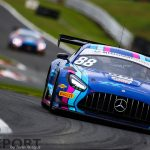 British GT Oulton Park: Tse and Onslow-Cole take maiden victory in frantic race one