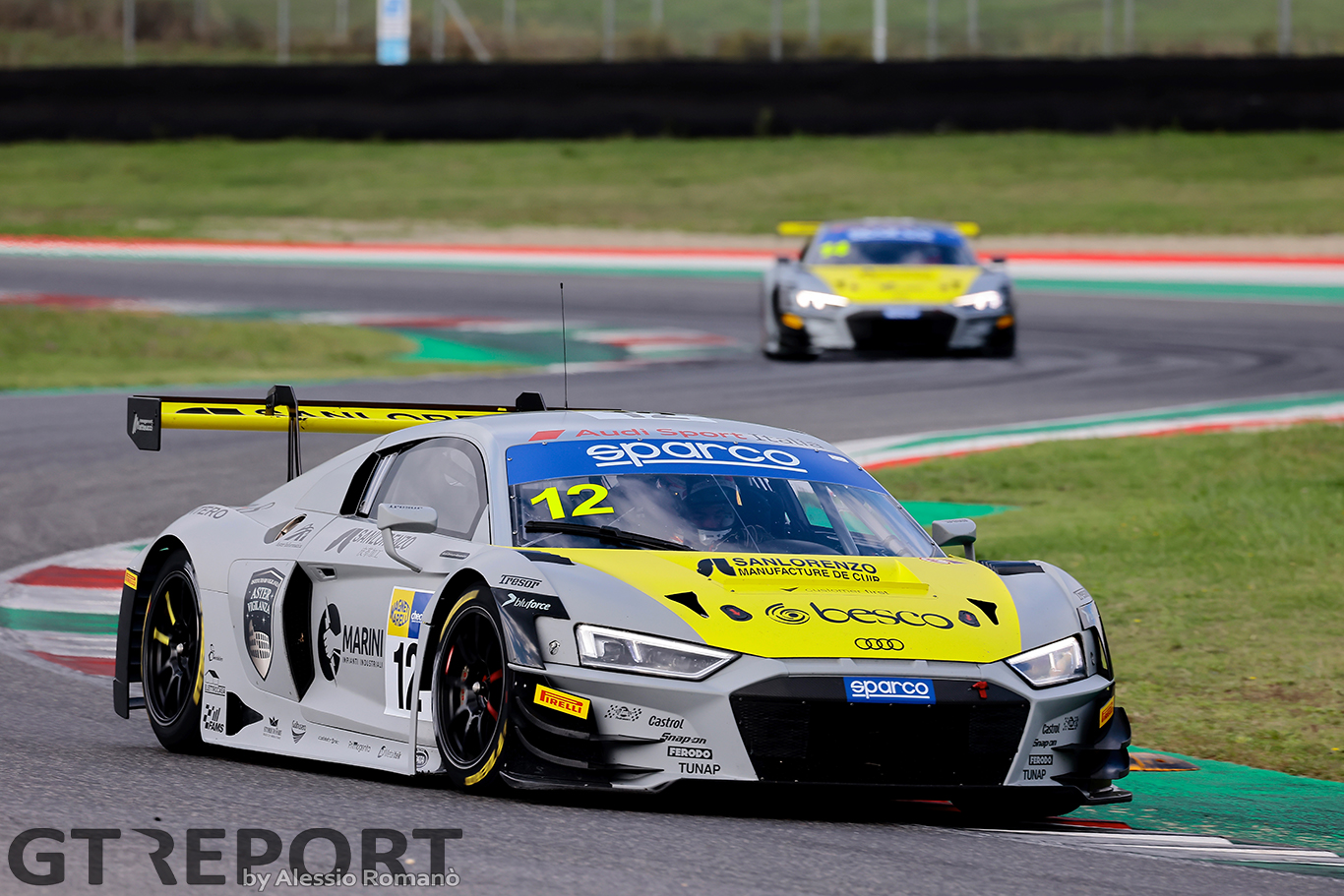 Italian GT Mugello: Ferrari and Agostini claim Sprint championship