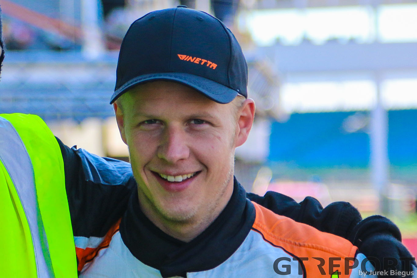 Mike Simpson, Ginetta factory driver