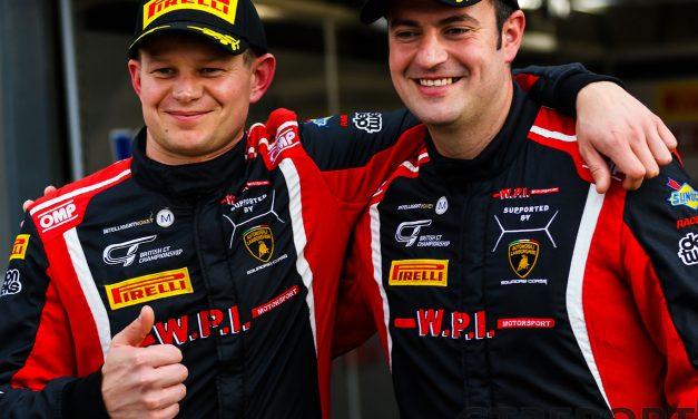 British GT Donington Park: WPI dominates qualifying, championship leaders sixth