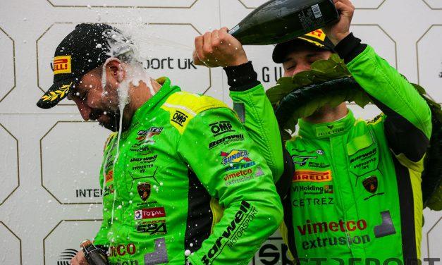 British GT Donington Park: Leo Machitski and Dennis Lind take the crown, Enduro win the race