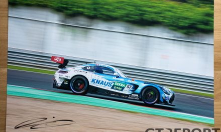 Giveaway: Win a signed photo of Philip Ellis in the Winward Racing Mercedes-AMG GT3