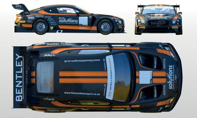 Tolman set for British GT return with Stinton, Witt and Bentley