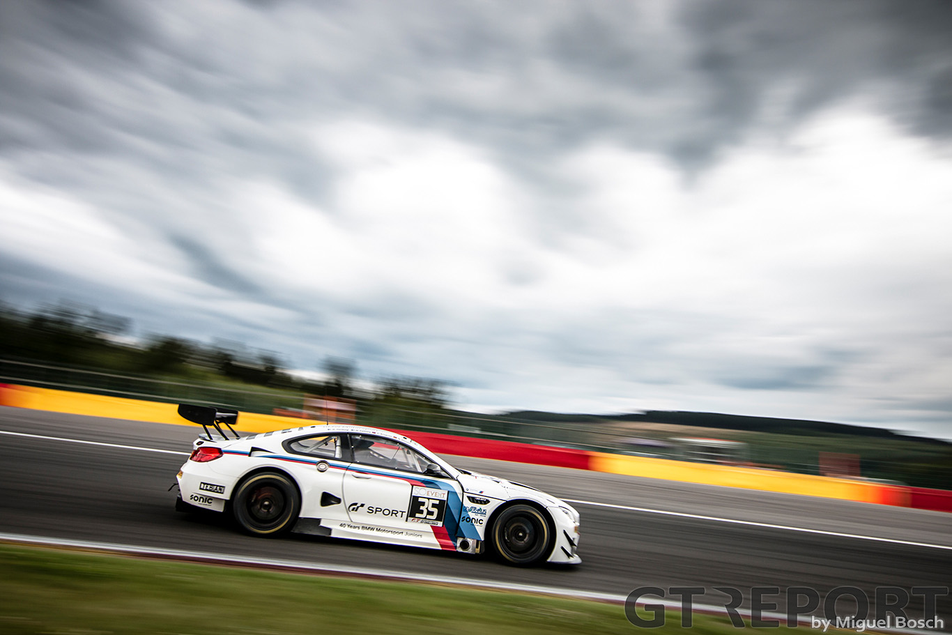 Christian Krognes at the 24 Hours of Spa: Friday