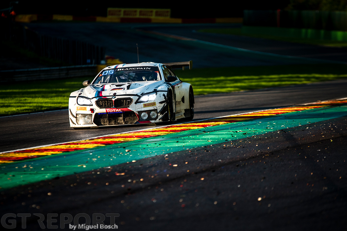 Christian Krognes at the 24 Hours of Spa: The race