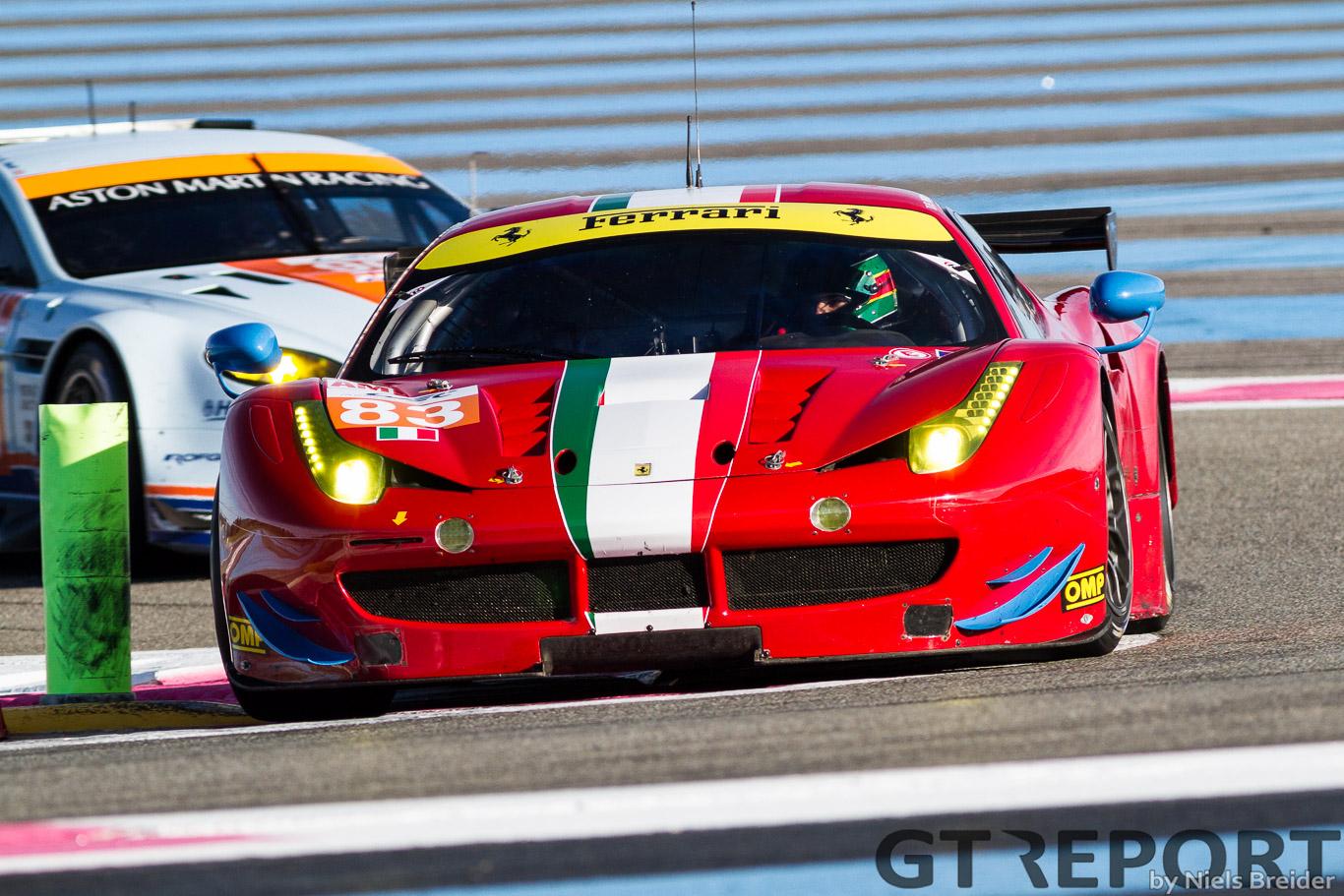 Prelude to Silverstone: GTE