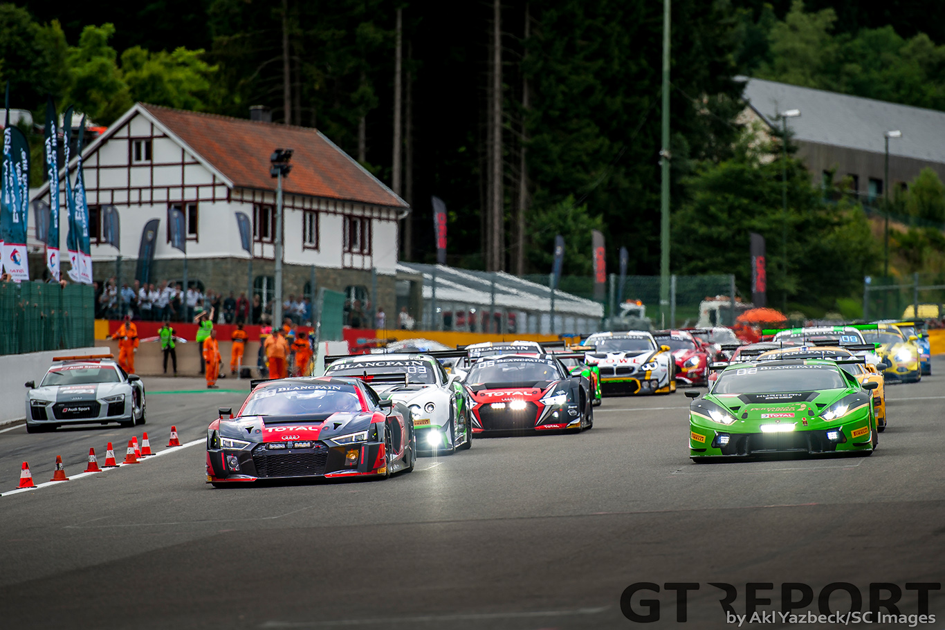 24 Hours of Spa Live Blog