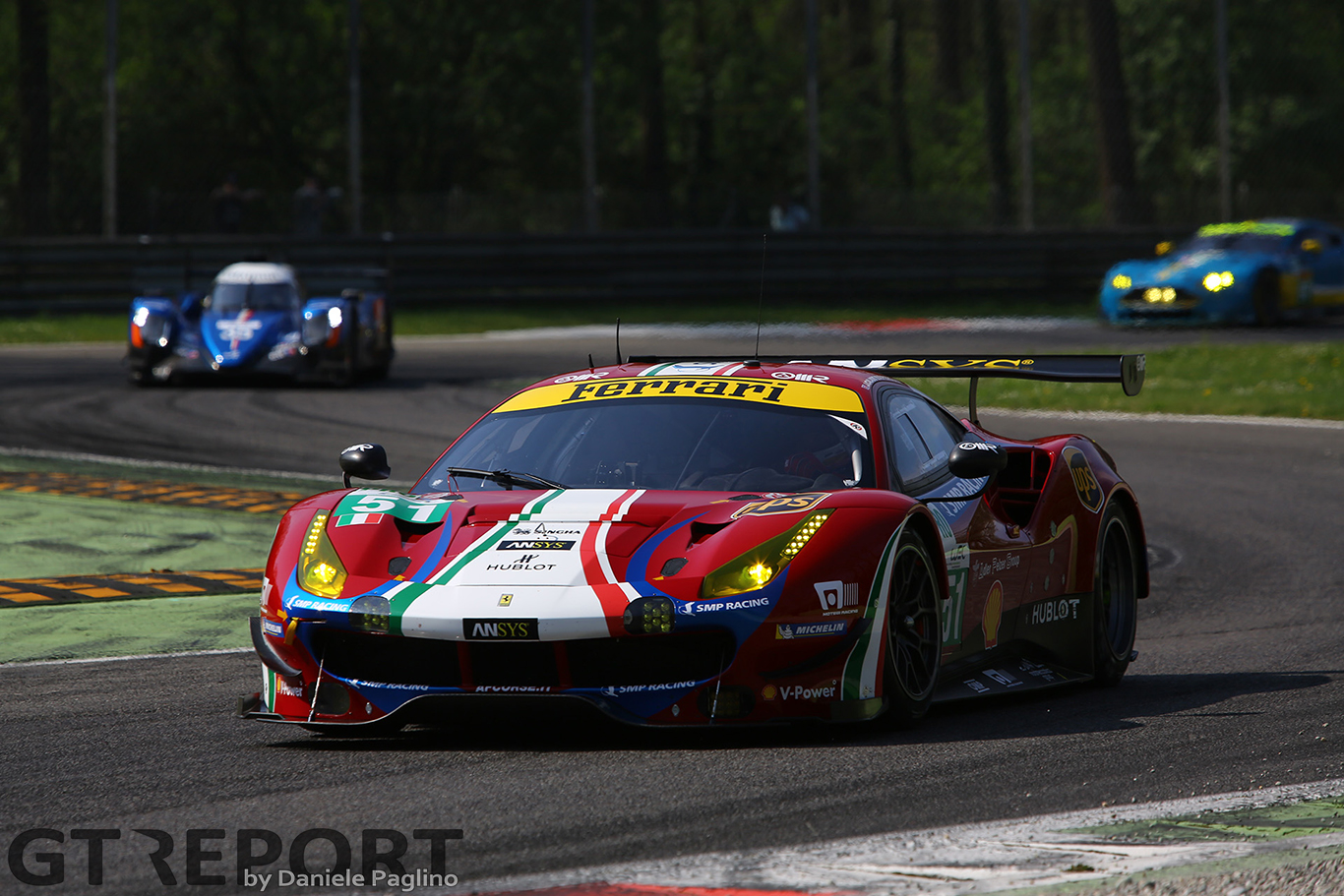 Down but not out: GTE