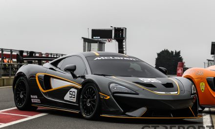 British GT Snetterton pre-season test gallery