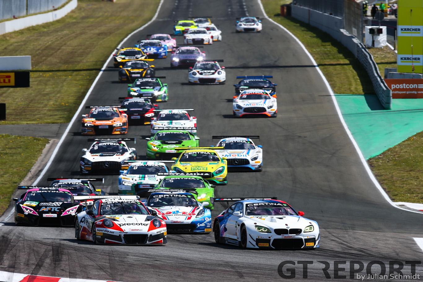 ADAC GT Oschersleben race report: Schnitzer returns