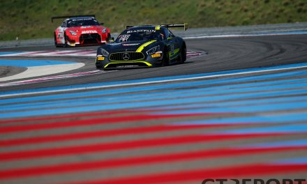 Blancpain GT Paul Ricard pre-season test
