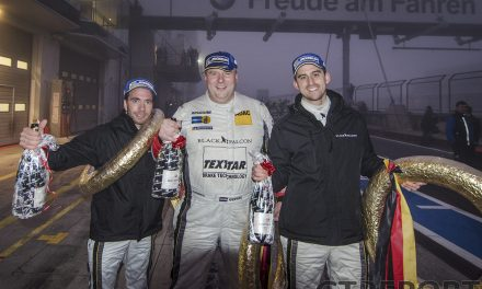 VLN10 race winners interview Gerwin Schuring, Manuel Metzger and Philipp Eng