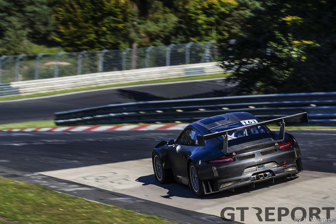 Porsche 991 GT3R Nürburgring test gallery