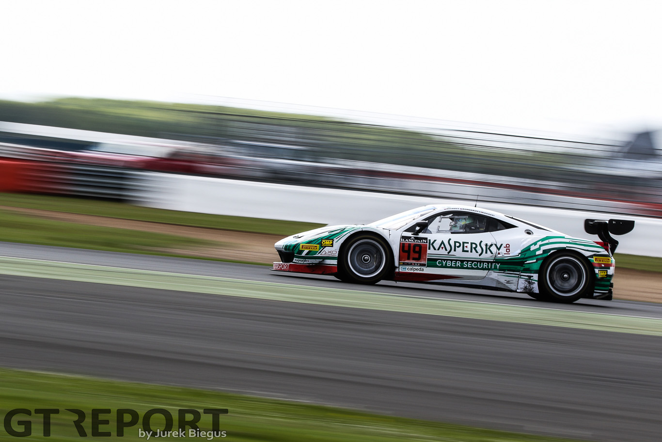 Kaspersky aiming high with Ferrari