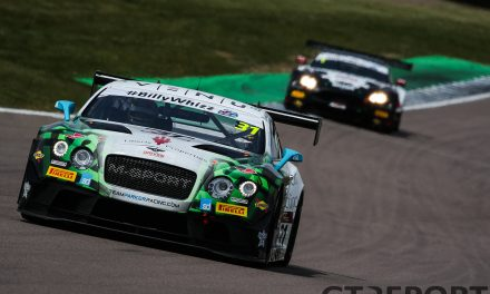 British GT Rockingham race report: Roll with it