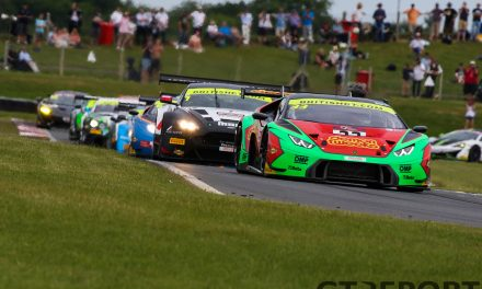 British GT Snetterton race report: In the heat of the moment