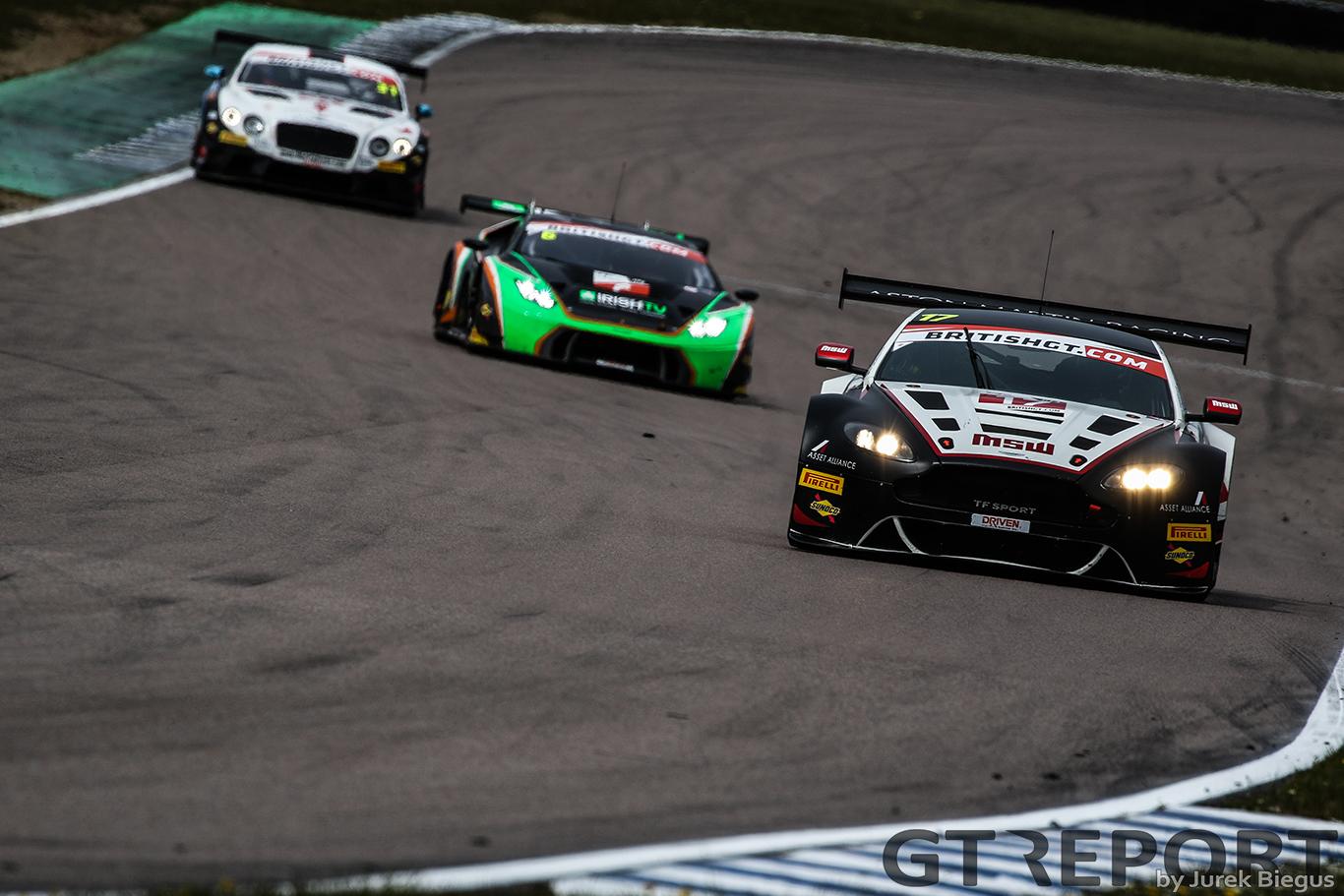 British GT Rockingham race report
