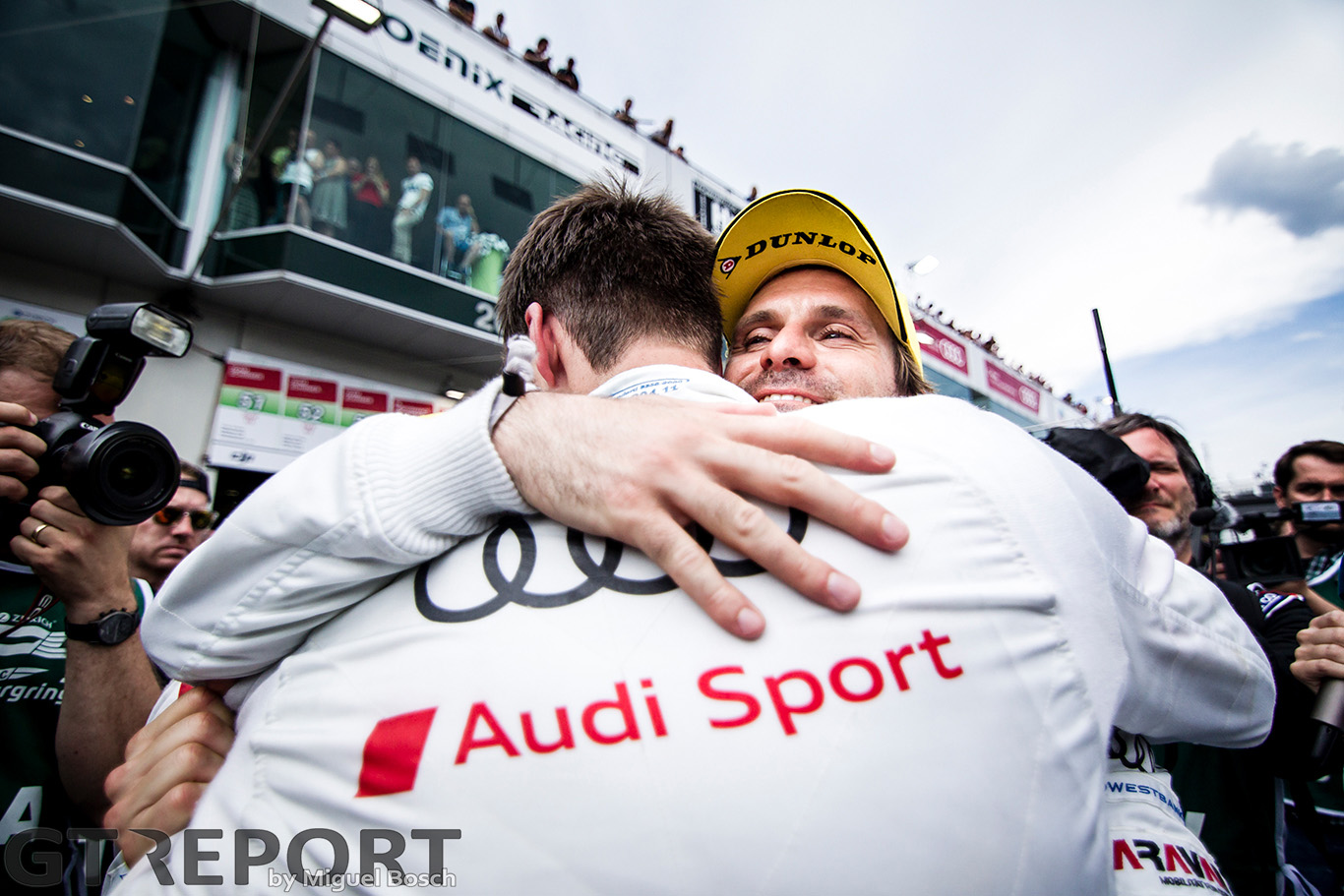 "Markus Winkelhock: ""This mistake brought us the win"""